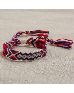 Bohemian Weaving Fashion Women Friendship Bracelet - Color 6