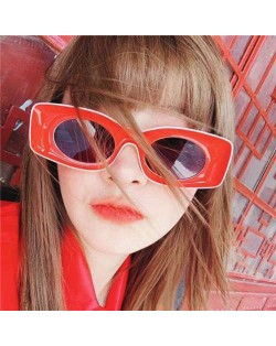 7 Colors Available Hip-hop Fashion Bold Style Frame KOL Preferred Sunglasses