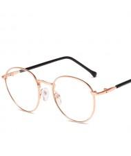 Slim Frame Vintage Fashion Women Protective Glasses