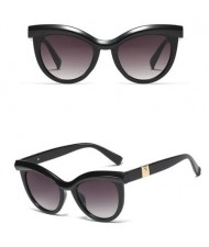 6 Colors Available Jointed Design Cat-eye Shape Frame High Fashion Women Sunglasses