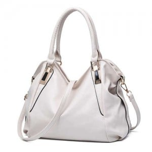 (5 Colors Available) Western High Fashion Elegant Casual Design Women PU Tote Bag/ Shoulder Bag