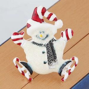 Snowman Winter Fashion Alloy Women Brooch