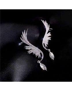 Stunning Design Angel Wings Korean Fashion Women Earrings