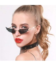 5 Colors Available Angel Wings Design High Fashion Online Stars Style Sunglasses
