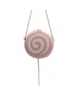 (6 Colors Available) Cute Lolipop Design Internet Celebrity Casual Fashion Women Shoulder Bag