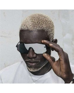 5 Colors Available Cool Style One-frame Design Punk Fashion Sunglasses