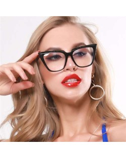 5 Colors Available Internet Celebrity Fashion Cat Eye Shape Frame Women Sunglasses
