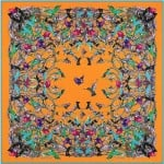 5 Colors Available Colorful Hummingbirds Flock Design 130*130 cm Square Scarf