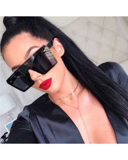 8 Colors Available High Fashion One Frame Design Internet Celebrity Choice Sunglasses