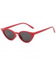 8 Colors Available High Fashion Cat Eye Design Internet Celebrity Choice Women Sunglasses