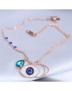 Charming Eye Pendants High Fashion Women Bracelet