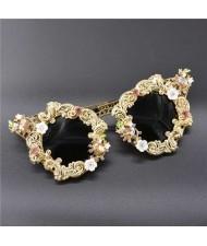 Baroque Style Romantic Fashion Vintage Women Sunglasses