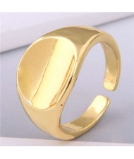 Delicate Fashion Hot Sales Copper Ring - Golden