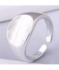 Delicate Fashion Hot Sales Copper Ring - Silver