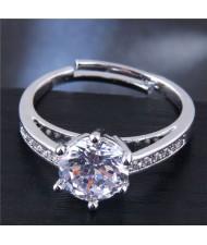Shining Cubic Zirconia Wedding/ Brial Fashion Women Ring