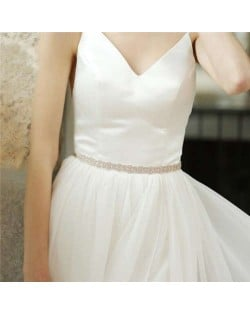 Classic Floral Weaving Pattern Design Women Wedding Bridal Belt