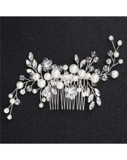 High Quality Pearl Fashion Women Bridal Hair Comb/ Hair Pin