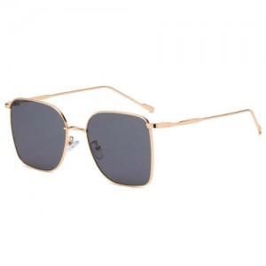 Fashion Wholesale Sunglasses Classic Slim Alloy Frame Jelly Color Sunglasses - Black