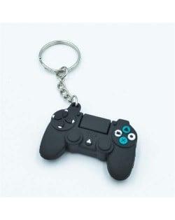 Vintage Fashion Cool Game Handle/ Joystick Modeling Key Chain - Black