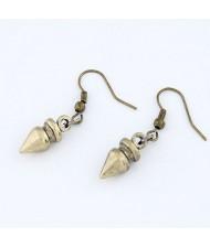 Bullet Design Fashion Earrings