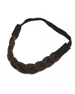 Weaving Wig Style Hair Band - Natural Black