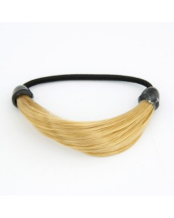 Fashion Wig Hair Band - Golden