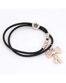 Korean Fashion Classic Long Bowknot Pendant Hair Band
