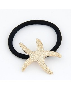 Golden Starfish Hair Band