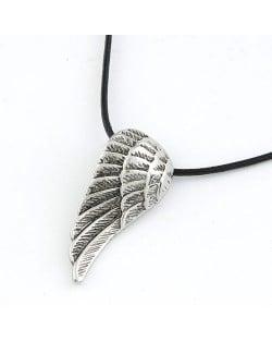 Korean Fashion Vintage Angel Wing Unisex Necklace