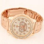 Luxurious Crown Fashion Wrist Golden Watch