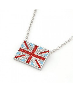 The National Flag of England Pendant Necklace