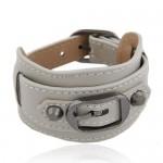 Belt Buckle Design Fashion Bracelet - Beige