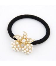 Korean Fashion Pearls Inlaid Cherry Design Hair Band
