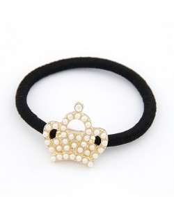 Korean Pearl Fashion Crown Hair Band
