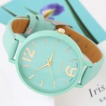 Coloful Candy Color Casual Style Women Sport Fashion Wrist Watch - Teal