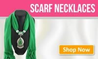 Wholesale scarf necklaces